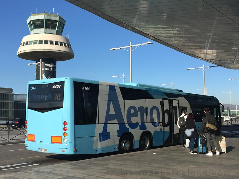 from barcelone airport to barcelona centre