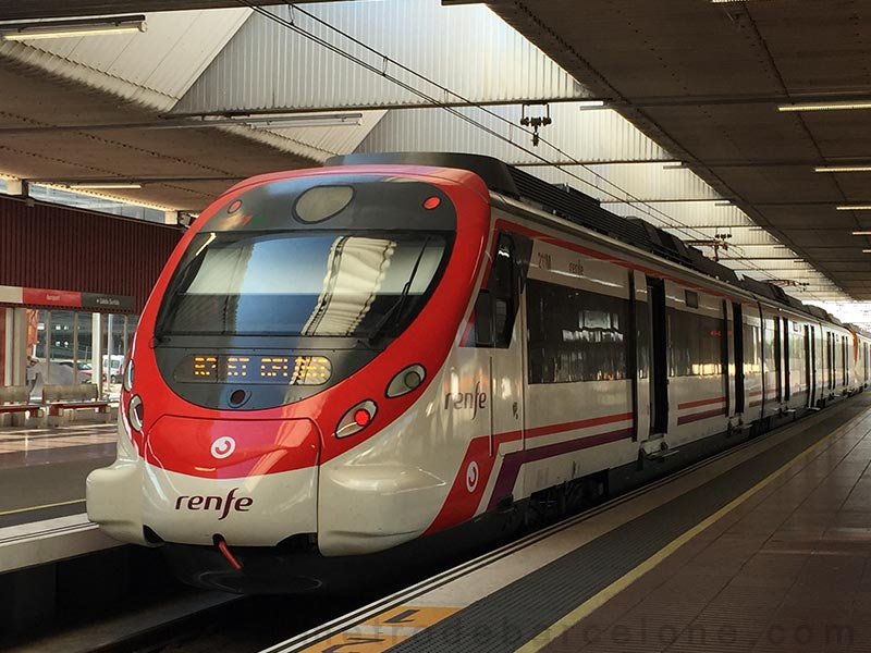 Barcelona airport trains