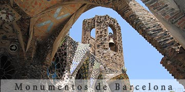 photos of Barcelone monuments