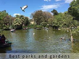 Barcelona best parks and gardens