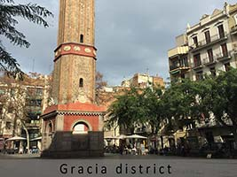 barcelona gracia district