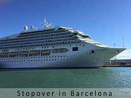 Barcelona cruises port