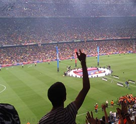 eventos al Camp Nou Barcelona
