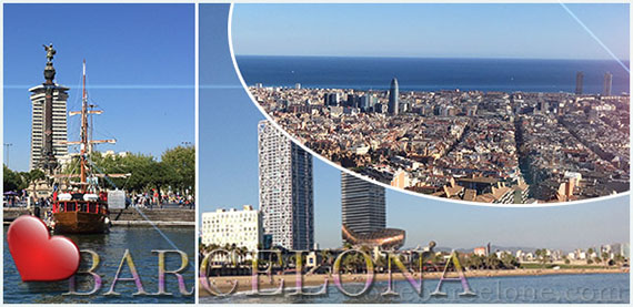 cartes postales virtuelles Barcelone