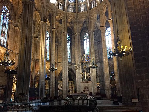 photos cathedrale Barcelone