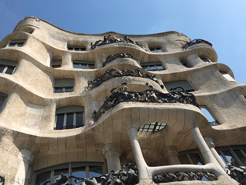 Barcelone Casa Mila photos