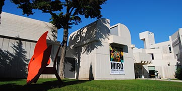 Barcelone fondation Joan Miro