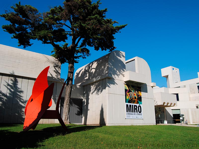 Fondation Joan Miro Barcelone