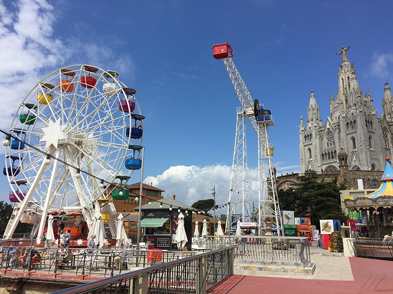 parc d'attractions Tibidabo Barcelone