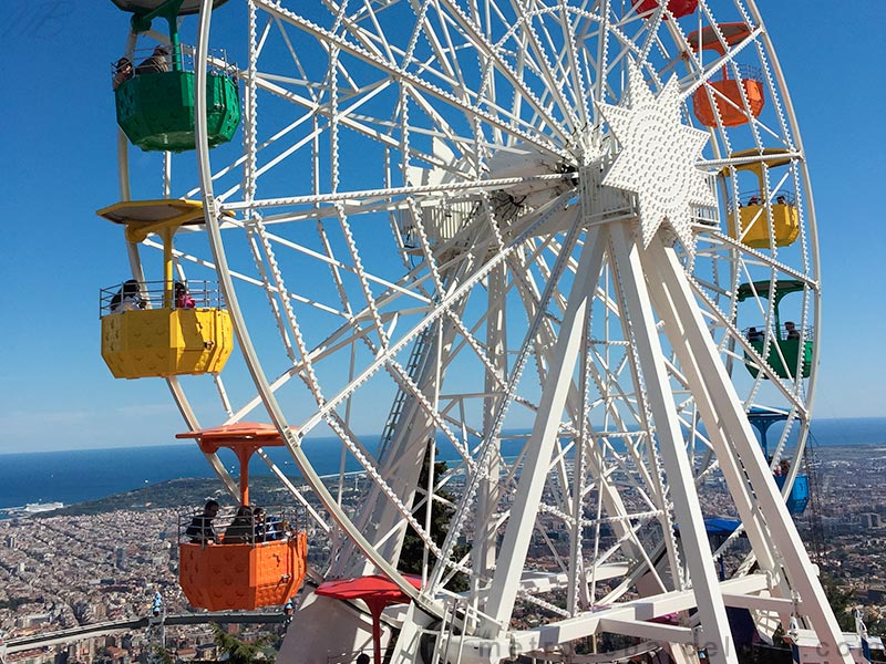 Barcelone Tibidabo photos