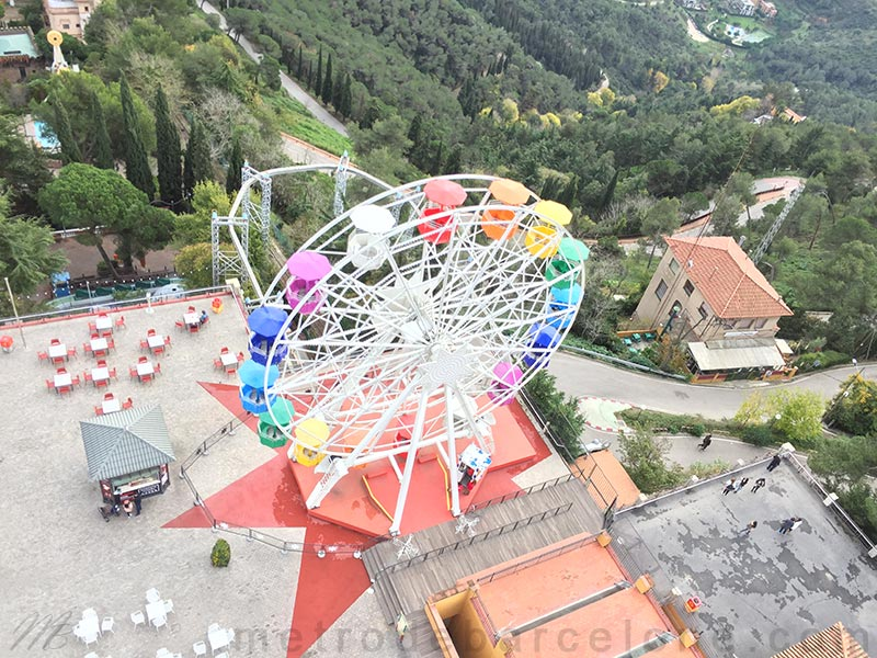photos du parc d'attractions de Barcelone