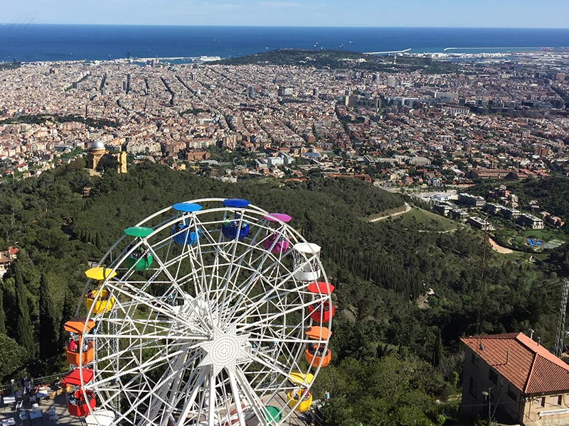 barcelone tibidabo attraction