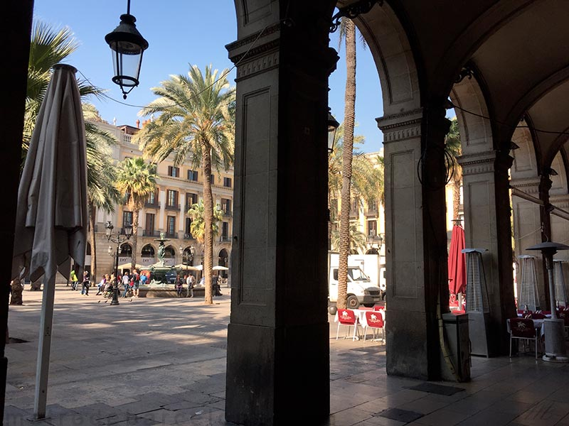 Place Reial Barcelone