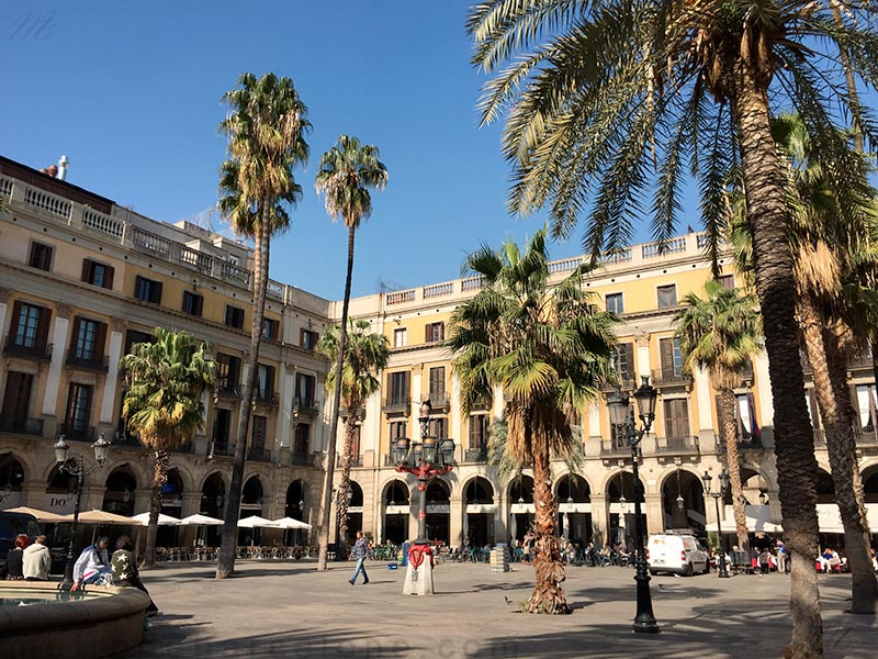 Place royale Barcelone