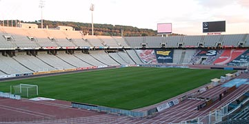 Barcelone stade olympique
