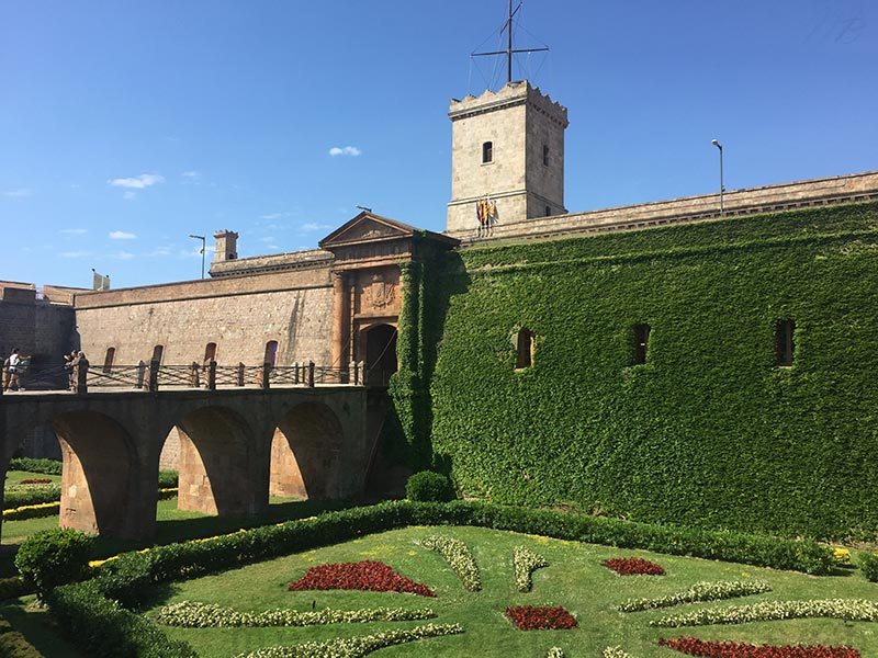 Barcelone Montjuic chateau