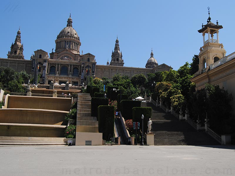 Palais National Montjuic Barcelone