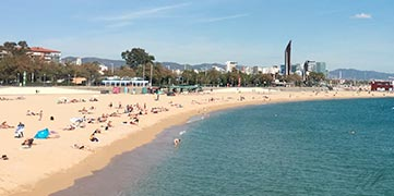 Barcelone plages