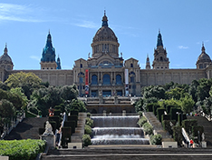 Barcelone Montjuic palais national