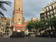 Quartier Gracia Barcelone