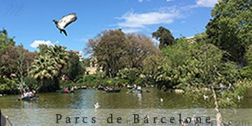photos Barcelone parcs