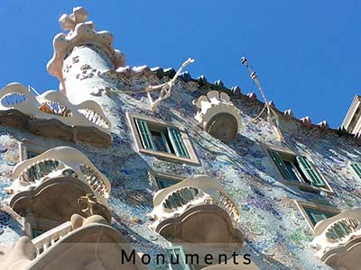 Barcelone monuments
